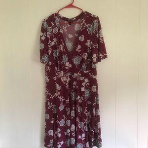 TORRID I Floral Dress